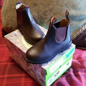 Blundstone slip on boots